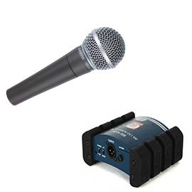 Mikrofonid ja di-boxid